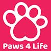 Paws 4 Life Logo